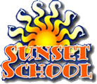 Sunset School Logo