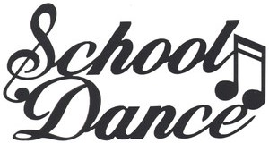 School dance clipart