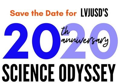 Science Odyssey 2020 Save the Date clipart