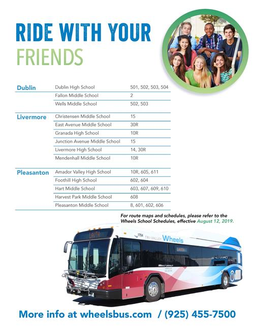 Try Transit to School Flyer page 2