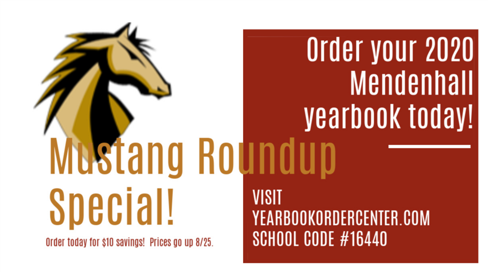 Mustang Roundup Yearbook Special!