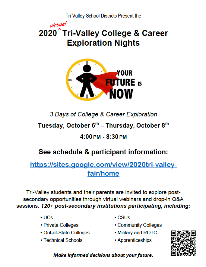 Tri-Valley College & Career Night