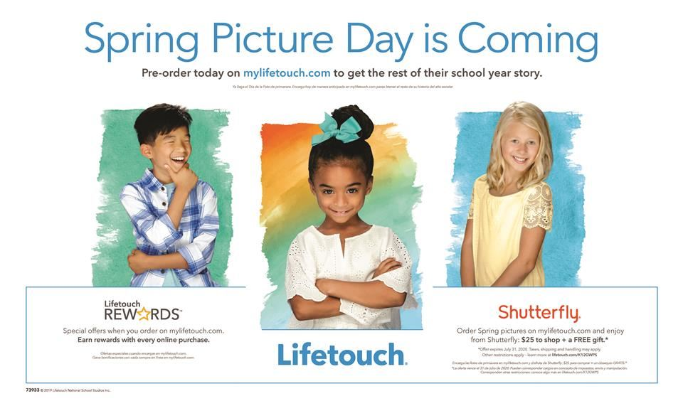 Spring Picture Day is Coming Flyer