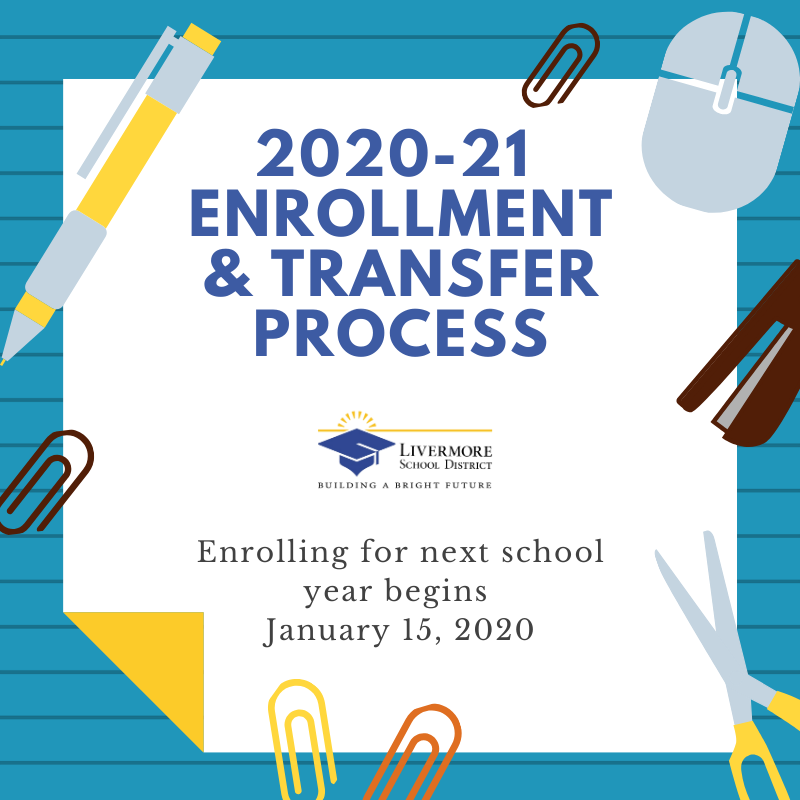 2020-21 Enrollment Process