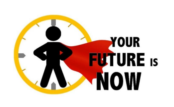 Your Future is Now Graphic