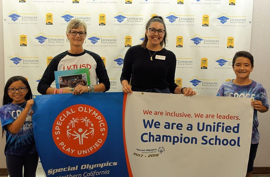 Croce Elementary Named Special Olympics Unified Champion School