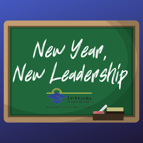 chalkboard with new year new leadership