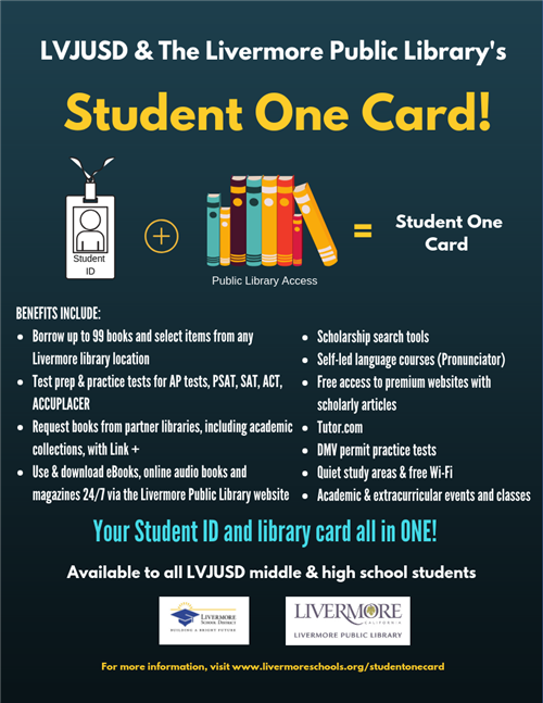 Student One Card Flyer