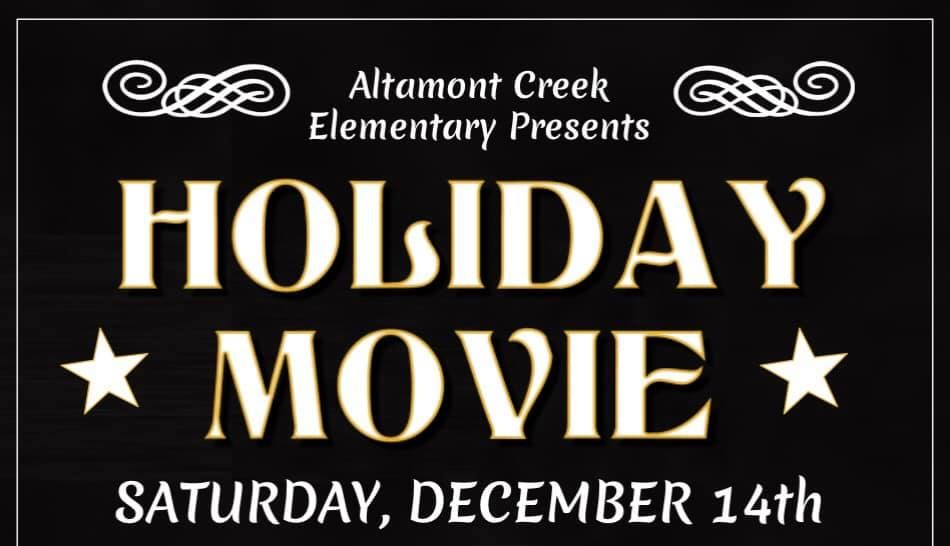 Holiday Movie Night at the Vine