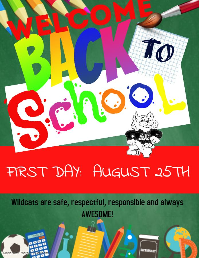 Welcome Back Wildcats/Office Hours