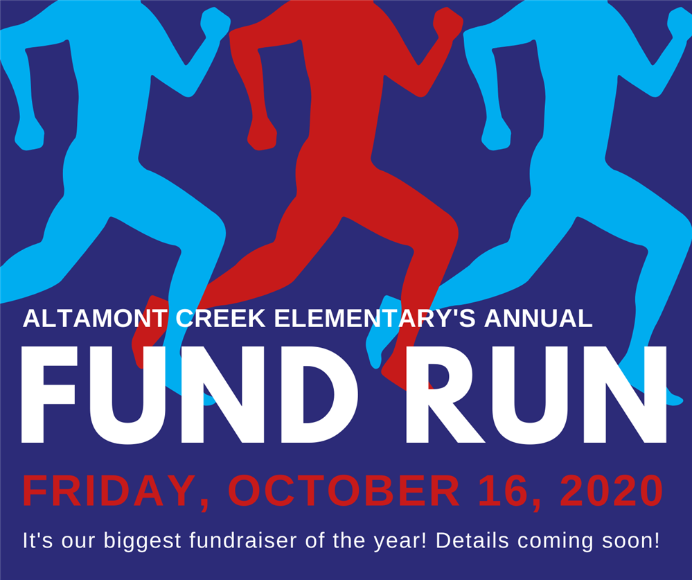 FUNd Run - October 12-16!