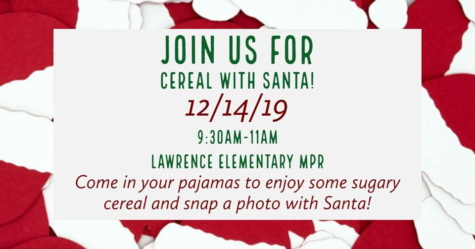 Cereal with Santa
